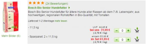Bosch Futter