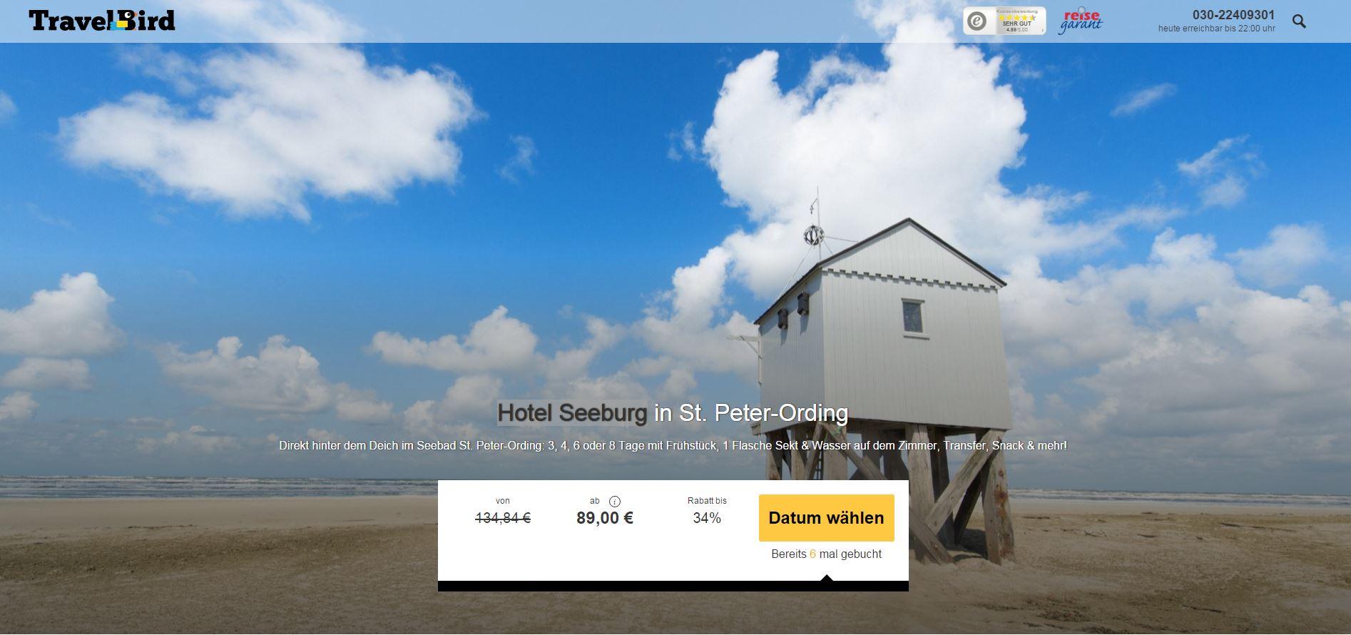 Urlaub Mit Hund St Peter Ording Hotel