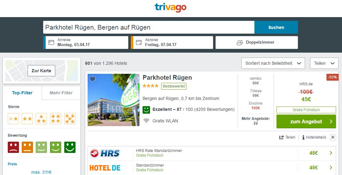 Sterne Hotel R Ef Bf Bdgen