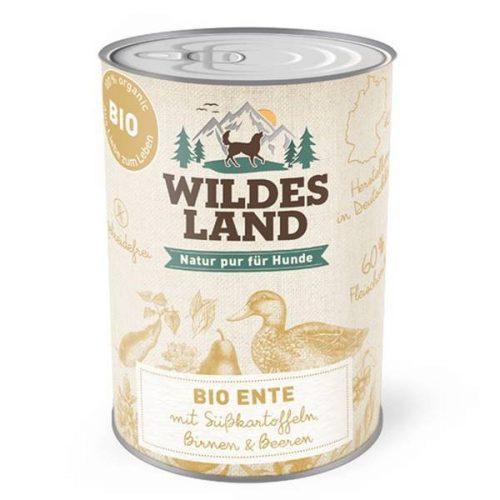 wildes-land-nassfutter-hund-bio-ente-400g-bei-pets-premium_1