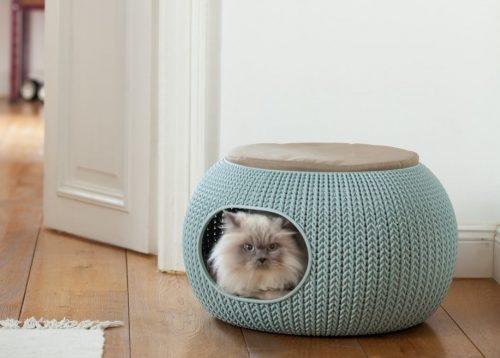 kuschelh hle f r katzen gem tlicher schlafplatz. Black Bedroom Furniture Sets. Home Design Ideas