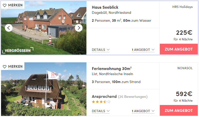 Silvester an der nordsee mit hund apartments schon ab 56 for Gunstige hotels nordsee
