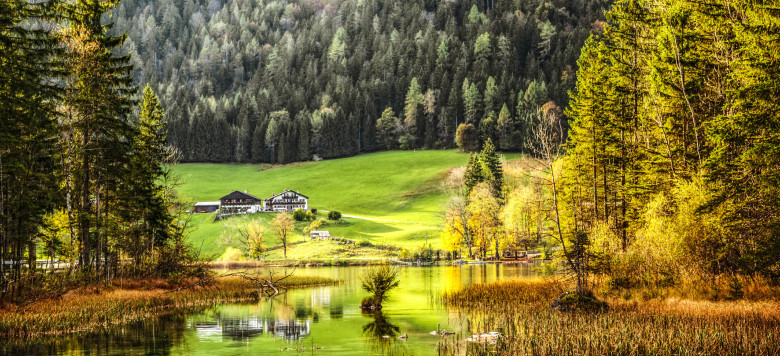 """The mystical Hintersee Lake surrounded by the """"Zauberwald"""" (Enchanted Forest) in Germany's Bavarian Alps.  More in...  [url=search/lightbox/5102919][img]http://i161.photobucket.com/albums/t218/dave9296/Lightbox_Autumn.jpg[/img][/url] [url=search/lightbox/4825135][img]http://i161.photobucket.com/albums/t218/dave9296/Lightbox_FlowersTrees-V2.jpg[/img][/url] [url=search/lightbox/4772212][img]http://i161.photobucket.com/albums/t218/dave9296/Lightbox_camping.jpg[/img][/url]"""