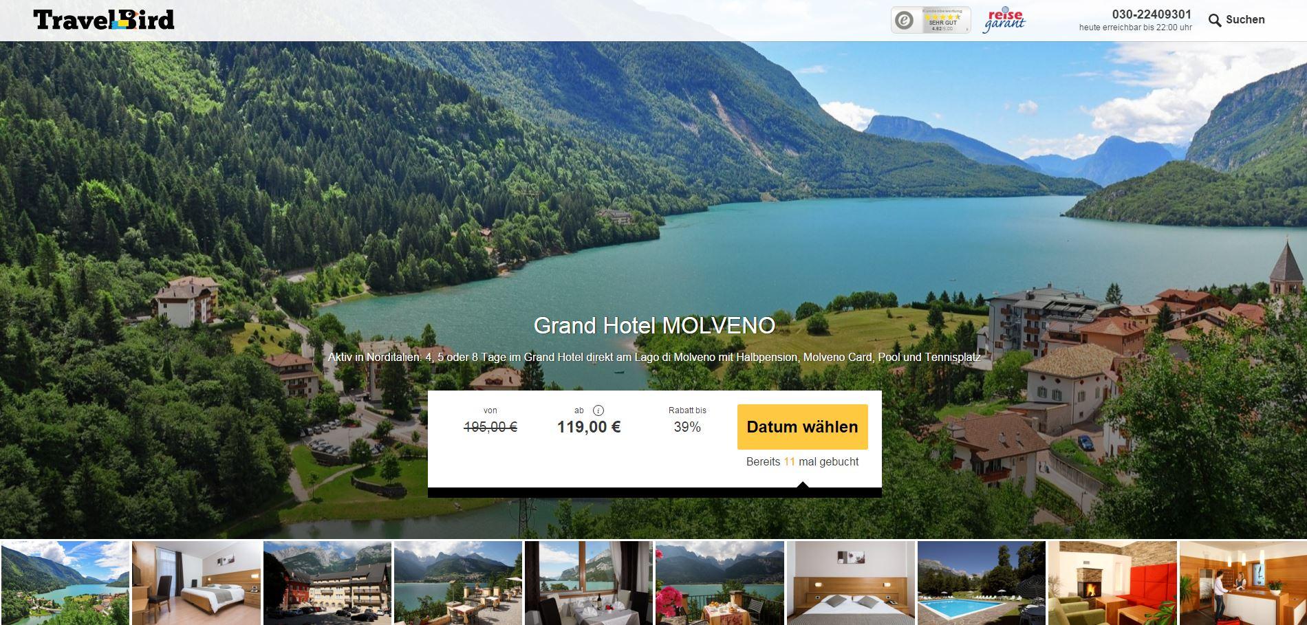 Grand Hotel Molveno Holidaycheck
